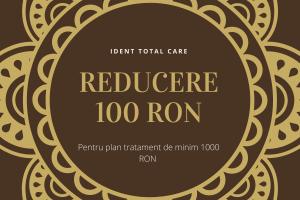 Reducere 100 Lei pentru plan de tratament